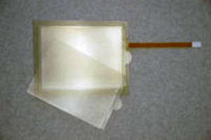 Self-Wetting Adhesive Sheet protects touch panel surface.