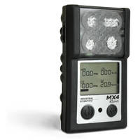 Portable Gas Detector can detect from 1-4 gases.