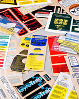 Product I.D Label Kits contain all graphic product markings.