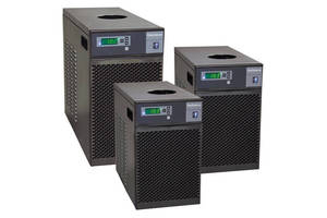 Compact Chillers provide up to 1,290 W of cooling at 20°C.