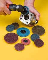 Surface Conditioning Discs feature quick change connectors.