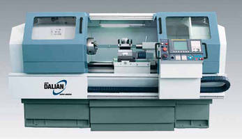 CNC Flat Bed Lathe performs wide range of turning operations.