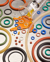 O-Rings resist corrosion match application requirements.