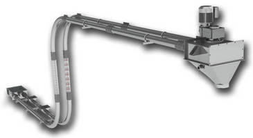 Tubular Drag Conveyor combines both chain/disc technology.