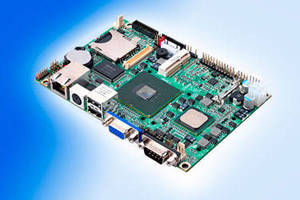 Embedded Miniboard has integrated graphics and video capability.