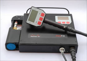 Portable Flame Ionization Detector offers Bluetooth connectivity.