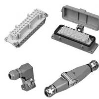 Industrial Cable Connectors provide IP65/NEMA 4 protection.