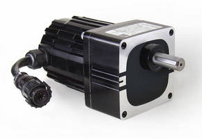 Brushless DC Gearmotor features high torque gearhead.