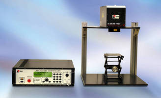DPSS Laser Marking System handles high volume throughput.