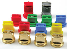 Flat Fan Spray Nozzles suit wide range of applications.