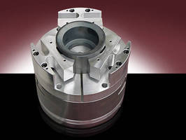 Custom Workholding Chucks provide 0.001-0.00001 in. accuracy.