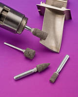 Abrasive Mounted Points provide smooth, controlled finishing.