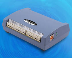 USB DAQ Systems offer sampling rate up to 500 kS/s.