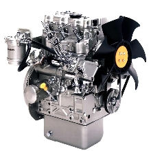 Engine offers compact dimensions.