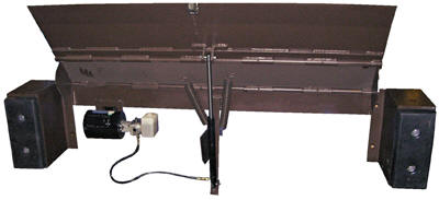 An electric hydraulic dock leveler. Credit: A-Z Factory Supply