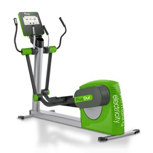 PlugOut cross-trainer exercise machine