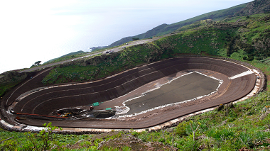 El Hierro pumped-storage reservoir