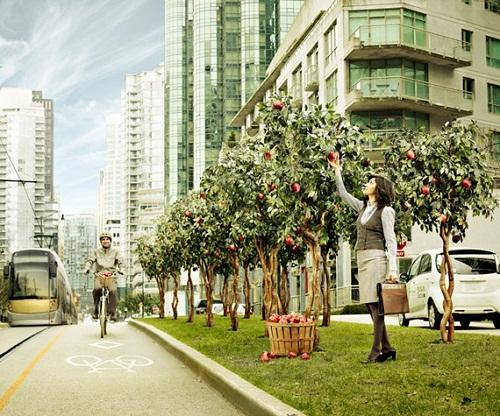Future Vancouver street scene