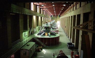 Hoover Dam hydroelectric generators, 1991