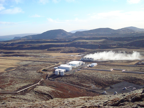 Geothermal plant in Iceland