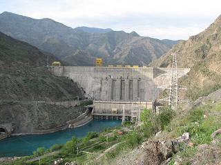 Nurek Hydropower plant, Kyrgyzstan