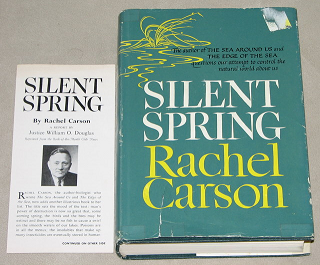 Book cover of Silent Spring
