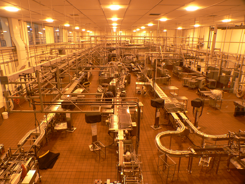Photo of cheese factory