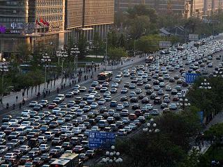 Chang'an Avenue in Beijing. Credit: Australian cowboy, Wikimedia Commons.