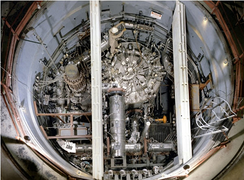 Early thorium reactor developed by the U.S. government in the 1960s. Credit: Oak Ridge National Laboratory.