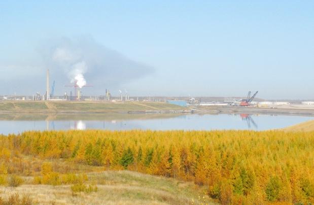 Syncrude's Base Mine Lake.