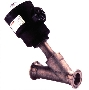 Angle Valve handles liquids, gases, and steam.
