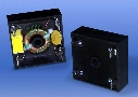 EMI Filters feature UL 94 V0 plastic enclosures.