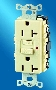 Ground Fault Receptacle provides added safety for end users.