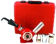 Heat Gun Kits include attachments and carrying case.