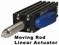 Moving Rod Linear Actuator develops 418 lb peak force.