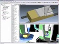 Software simulates entire CNC machining process.