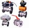 Flanged Ball Valves feature fire-tested design.