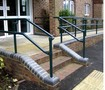 Railing System features structural, slip-on pipe fittings.