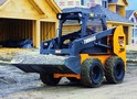 Thomas Equipment Dependable Model 250 Skid Steer Loader Combines Power & Agility for Rugged Work Site Performance