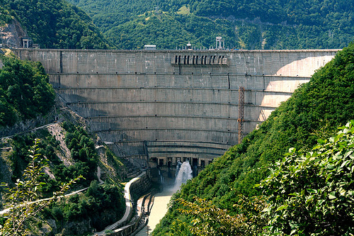 Harnessing hydroelectric power ingur hydro electric plant sciox Image collections
