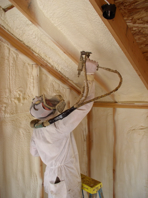 Foam goes green soy foam insulation for Mold resistant insulation