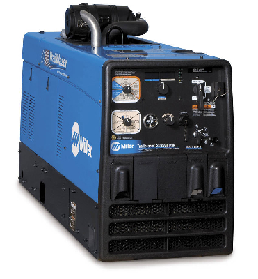 Trailblazer® 302 Air Pak(TM) Welder/Generator/Air Compressor Now Available with Battery Charger ...