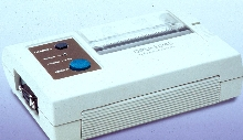 Thermal Printer communicates via RF for portable printing.
