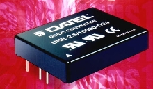 DC/DC Converter provides 10 A output in small package.