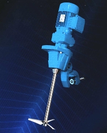 Portable Mixer is impelled to agitate.