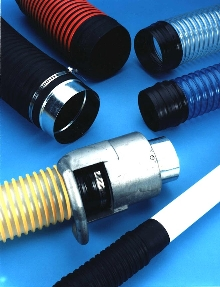 Flexible Hose and Ducting have cuff ends for easier clamping.