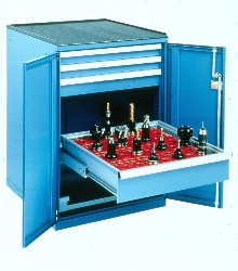 Tool Cabinets form core of machining centers.