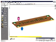 EDM Software designs parts using dies and punches.