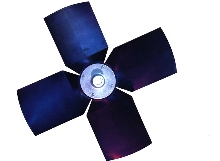 Fans achieve required air pressures at low speeds.