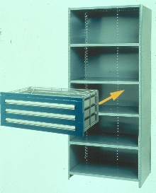 Shelf Kit puts drawers onto shelves.
